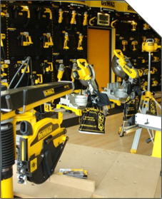 Frank Coolen Machines is DeWalt Center